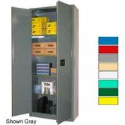 Securall® 36x18x84 Self-Latch Industrial Cabinet Beige