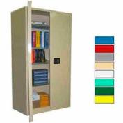 Securall® 36x24x72 Self-Latch Industrial Cabinet Beige