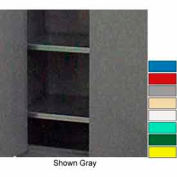 "Securall® Extra Shelf for 24"" Deep Industrial Cabinet Red"