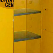 """Extra Shelf for 26"""" Wide Flammable Spill Cabinet Yellow"""