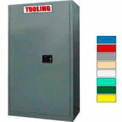 Securall® 43 x 18 x 65 Self-Latch Tooling Cabinet Gray