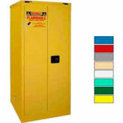 Securall® 60-Gallon, Self-Close Door, Waste Safety Can Storage Cabinet Yellow
