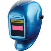 Sellstrom® Helmet W/27602 XVA™ Fixed Shade 10 ADF, Stratto Blue