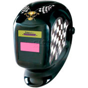 Sellstrom® Helmet W/27070-60 Phantom™ XL Lite Shade 9-12 AD Filter, Finish Line