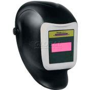 Sellstrom® Helmet W/27080 Phantom™ GTW Shade 9-12 ADF, Black/Silver