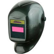 Sellstrom® Helmet W/27080 Phantom™ GTW Shade 9-12 ADF, Black/Grey