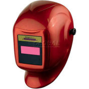 Sellstrom® Helmet W/27080 Phantom™ GTW Shade 9-12 ADF, Cinder Red