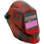 Sellstrom® Trident™ Welding Helmet W/27070 Phantom™ Plus Shade 9-12 ADF, Volcano