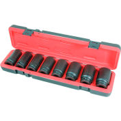 """American Forge & Foundry 3/4"""" Deep Impact Socket Set, 26MM-38MM, 8Pc"""