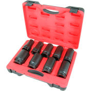 """American Forge & Foundry 1"""" Deep Impact Socket Set, 24MM-46MM, 9Pc"""