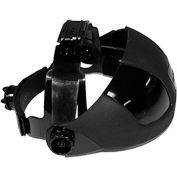 Sellstrom® S32001 DP4 Replacement Crown, Black, For Flip Front Visor Face Shields