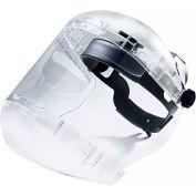 Sellstrom® S38440 380 Series Max Light Ratcheting Faceshield, Dual Crown, Clear, Anti-Fog