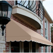 "Awntech CF34-8L, Window/Entry Awning 8' 4 -1/2""W x 4'D x 3' 8""H Linen"