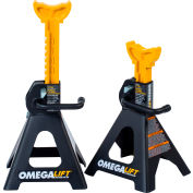 Omega Dual Locking Jack Stands 3 Ton (Pair) - 32038 - Pkg Qty 2