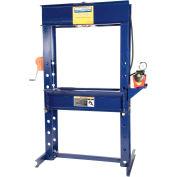 Hein-Werner 55 Ton Shop Press W/ PA3801 Air Pump - HW93403