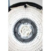 "Qleeno 12"" White Polypropylene Brush - 710-4-8501-108"
