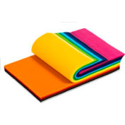 "Smart-Fab Non-Woven Fabric 9"" x 12"" Cut Sheet, 270/Pack, Assorted 15 Colors - Pkg Qty 6"