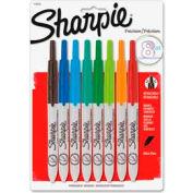 Sharpie® Retractable Permanent Marker, Ultra Fine, Assorted Ink, 8/Set