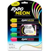 Sanford® Expo Neon Dry Erase Marker, Bullet Tip, Neon Yellow/Blue/Green/Orange/Pink, 5/Pack