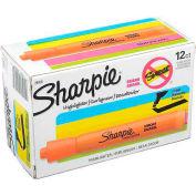 Sharpie® Accent Tank Highlighter, Smear Guard, Chisel Tip, Orange Ink - Pkg Qty 12
