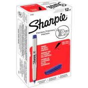 Sharpie® Permanent Marker, Ultra-Fine, Blue Ink - Pkg Qty 12