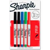 Sharpie® Permanent Marker, Waterproof, Ultra Fine, Assorted Ink, 5/Pack