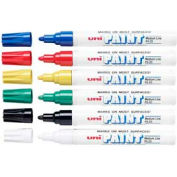 Sanford® Uni Paint Marker, Oil-Based, Medium, Assorted Ink, 6/Set