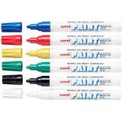 Sanford® Uni Paint Marker, Oil-Based, Medium, Assorted Ink, 6/Set