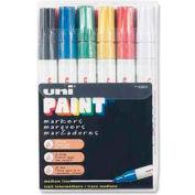 Sanford® Uni Paint Marker, Oil-Based, Medium, Assorted Ink, 12/Set