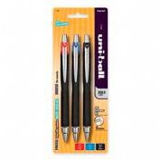 Sanford® Uni-ball Jetstream RT Rollerball Retractable Pen, 1.0mm, Assorted Ink, 3/Pack