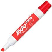 Sanford® Expo Low Odor Dry Erase Marker, Chisel Tip, Red Ink, Dozen