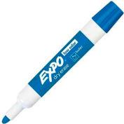 Sanford® Expo Low Odor Dry Erase Marker, Bullet Point, Blue Ink, Dozen