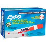 Sanford® Expo Dry Erase Marker, Chisel Tip, Red Ink - Pkg Qty 12