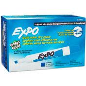 Sanford® Expo Dry Erase Marker, Chisel Tip, Blue Ink - Pkg Qty 12