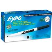 Sanford® Expo Dry Erase Marker, Fine Tip, Black Ink, Dozen