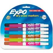 Sanford® Expo Dry Erase Marker, Fine, Nontoxic, Assorted Ink, 12/Set