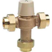 Chicago Faucets Ecast Thermostatic Mixing Valve With Check Valves And Filter Screens