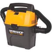 Workshop 3 Gallon, 3.5 Peak Hp Portable Wet/Dry Vacuum