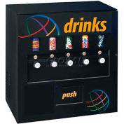 Five Select Manual Soda Vending Machine