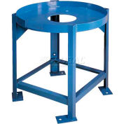 Elevated Stands w/Support for Saint-Gobain 360 Gallon Flat-Bottom Cylindrical Tank