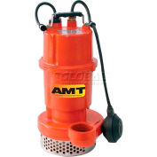"""AMT 5780-98 Submersible Drainage/Sump Utility Pump, Stainless Steel, 2"""" Out, 1/2 hp, Drainage Type"""
