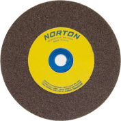 "Norton 07660788210 Gemini Bench and Pedestal Wheel 5"" x 3/4"" x 1"" 60 Grit Aluminum Oxide"