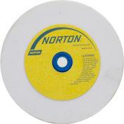 "Norton 07660788246 Premium Bench and Pedestal Wheel 6"" x 3/4"" x 1"" 60 Grit Aluminum Oxide"