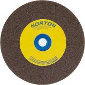 "Norton 07660788250 Gemini Bench and Pedestal Wheel 6"" x 1"" x 1"" 100 Grit Aluminum Oxide"
