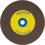 "Norton 07660788260 Gemini Bench and Pedestal Wheel 6"" x 1"" x 1"" 36 Grit Aluminum Oxide"