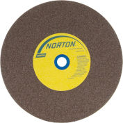 "Norton 07660788285 Gemini Bench and Pedestal Wheel 8"" x 1"" x 1"" 60 Grit Aluminum Oxide"