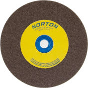 "Norton 07660788286 Gemini Bench and Pedestal Wheel 8"" x 1"" x 1"" 36 Grit Aluminum Oxide"