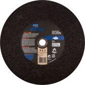 """Norton 07660789399 Metal Chop Saw Cut-Off Wheel 14"""" x 3/32"""" x 1"""" 36 Grit Aluminum Oxide Type 1 - Pkg Qty 5"""