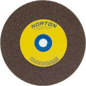"Norton 66252836133 Gemini Bench and Pedestal Wheel 6"" x 1/2"" x 1"" 100 Grit Aluminum Oxide"