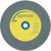 "Norton 66252837191 Gemini Bench and Pedestal Wheel 6"" x 3/4"" x 1"" 80 Grit Silicon Carbide"